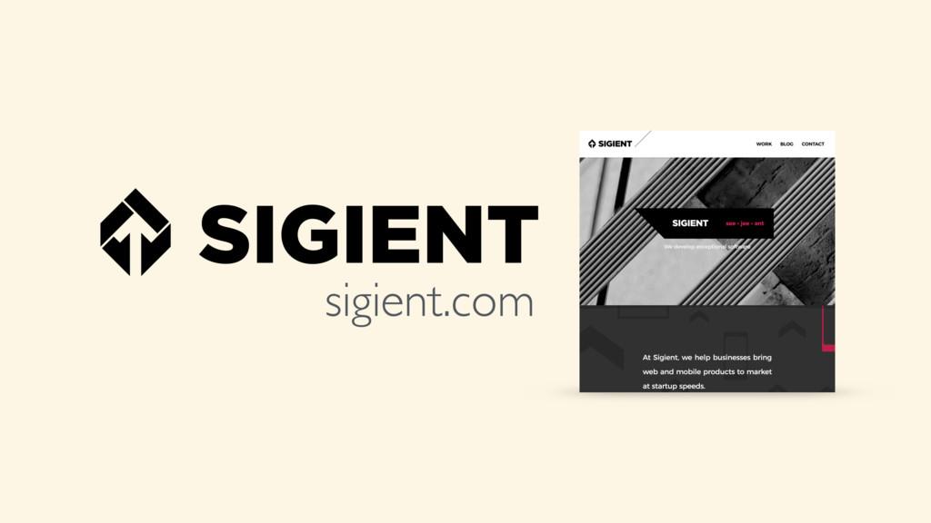 sigient.com