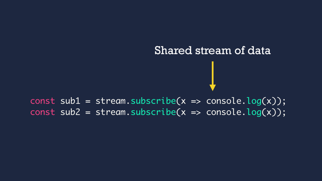const sub1 = stream.subscribe(x => console.log(...