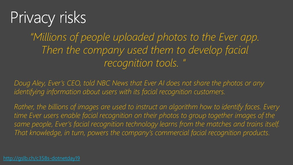 """""""Millions of people uploaded photos to the Ever..."""