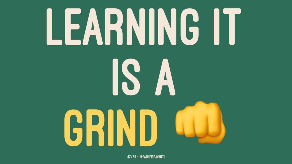 LEARNING IT IS A GRIND 47/50 — @paulfioravanti
