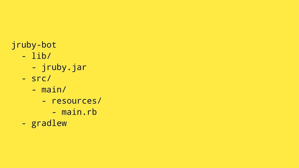 jruby-bot - lib/ - jruby.jar - src/ - main/ - r...