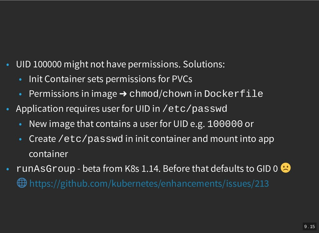 / • UID 100000 might not have permissions. Solu...