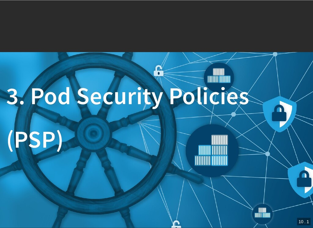 / 3. Pod Security Policies 3. Pod Security Poli...