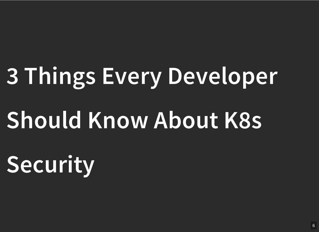 / 3 Things Every Developer 3 Things Every Devel...