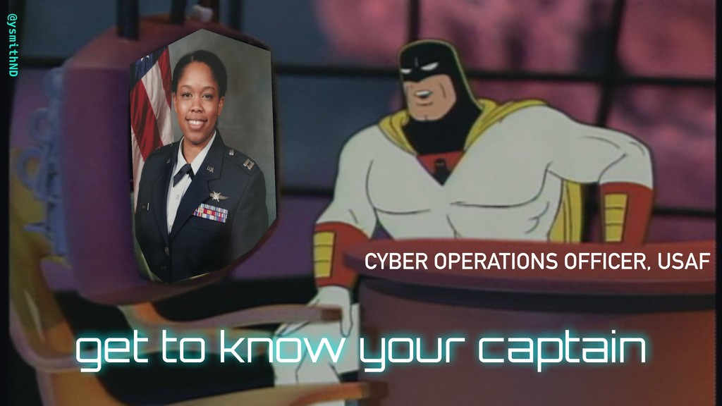 @ysmithND CYBER OPERATIONS OFFICER, USAF get to...