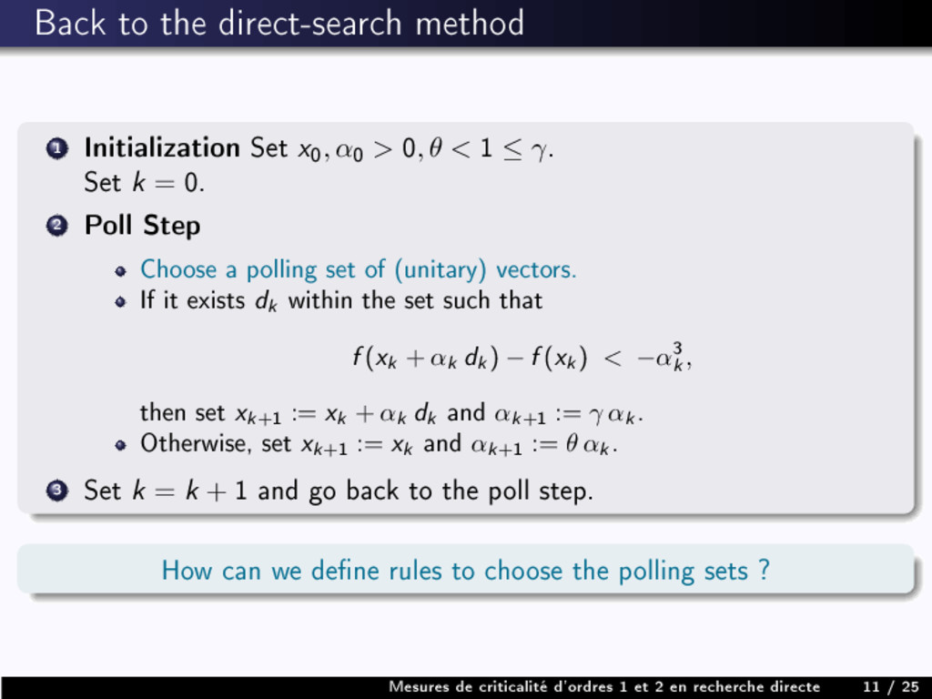 Back to the direct-search method 1 Initializati...