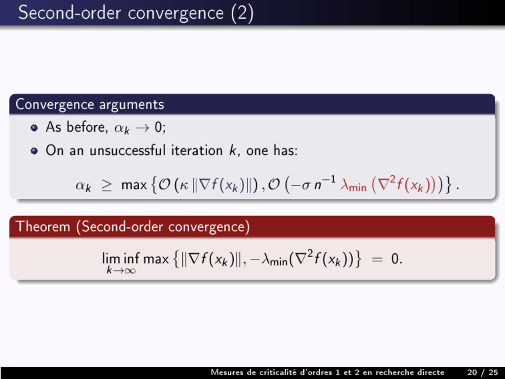 Second-order convergence (2) Convergence argume...