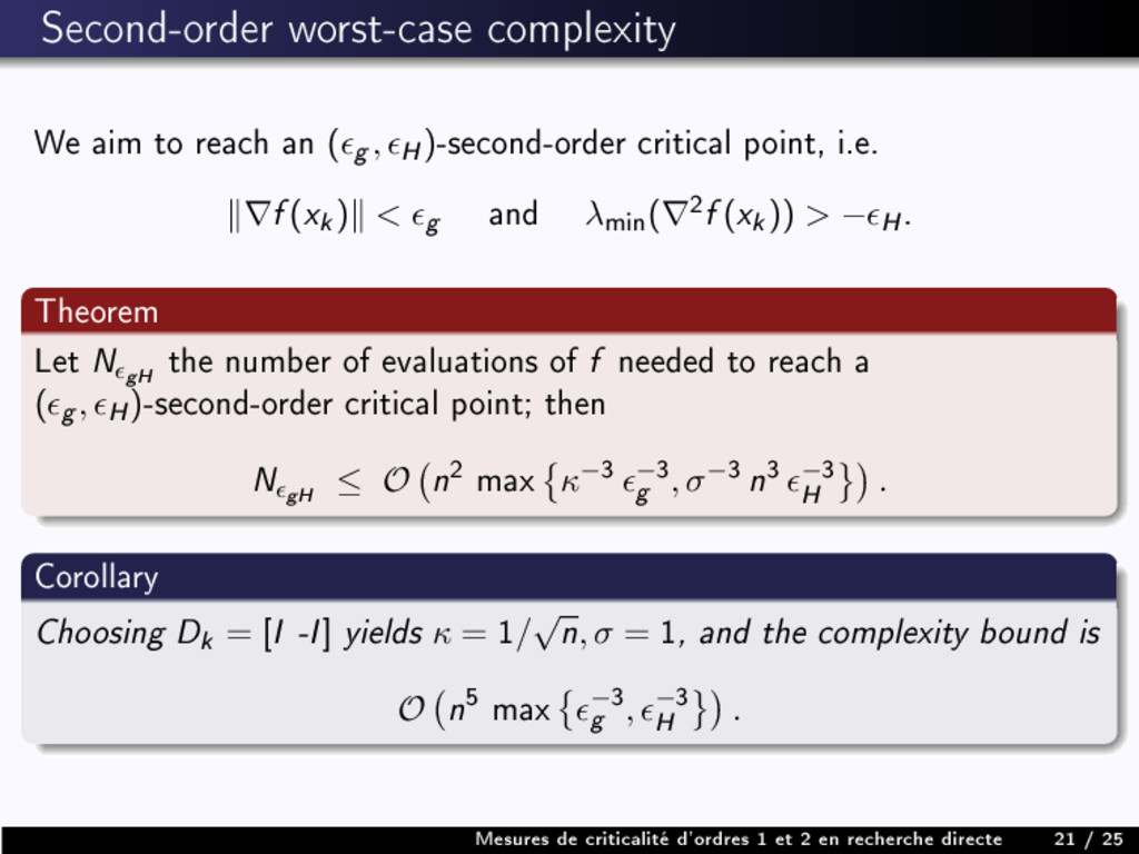 Second-order worst-case complexity We aim to re...