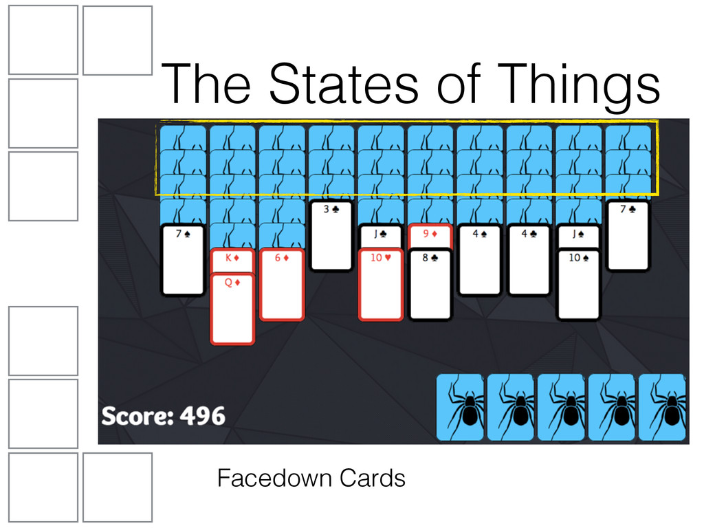 Facedown Cards The States of Things