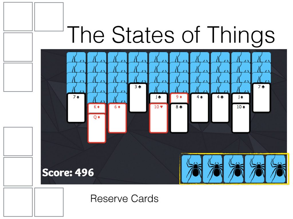Reserve Cards The States of Things