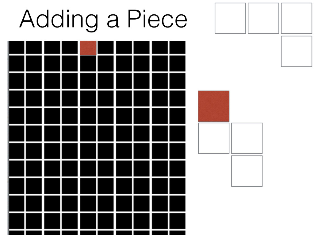 Adding a Piece