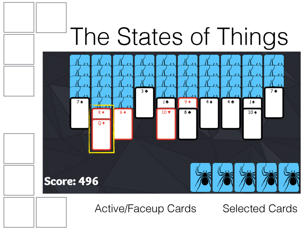 Active/Faceup Cards The States of Things Select...