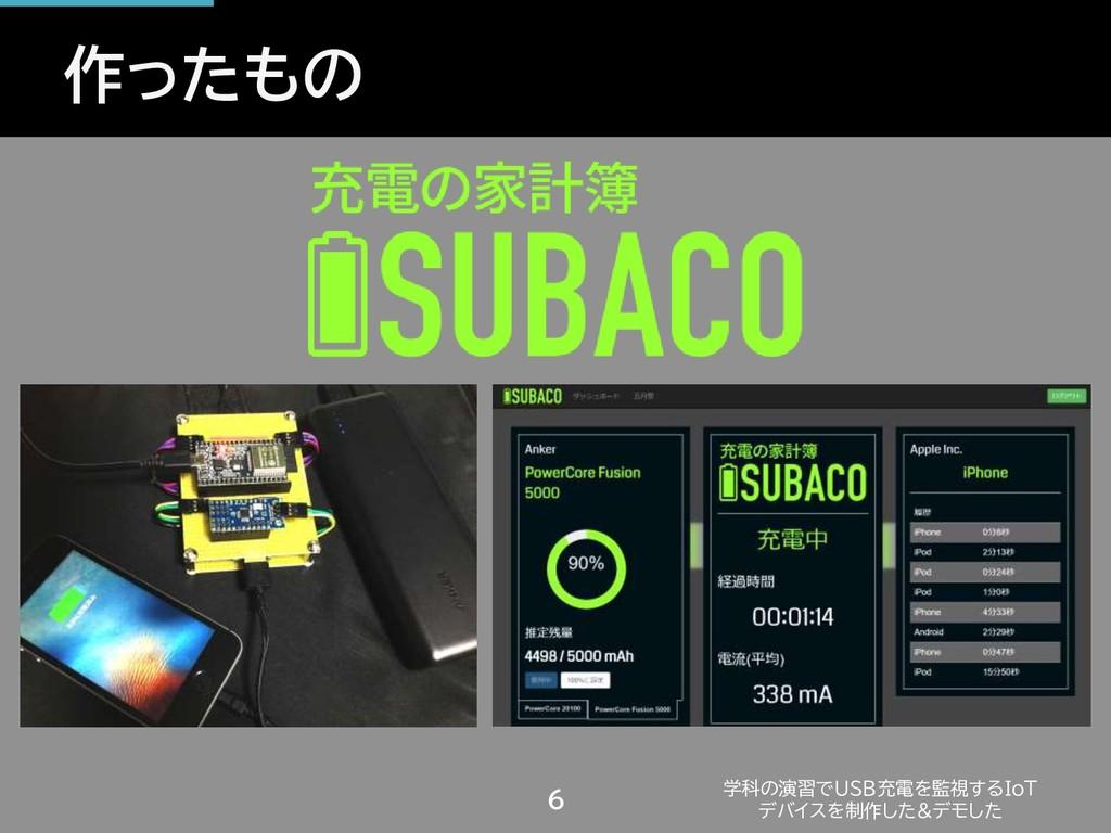作ったもの 学科の演習でUSB充電を監視するIoT デバイスを制作した&デモした 6