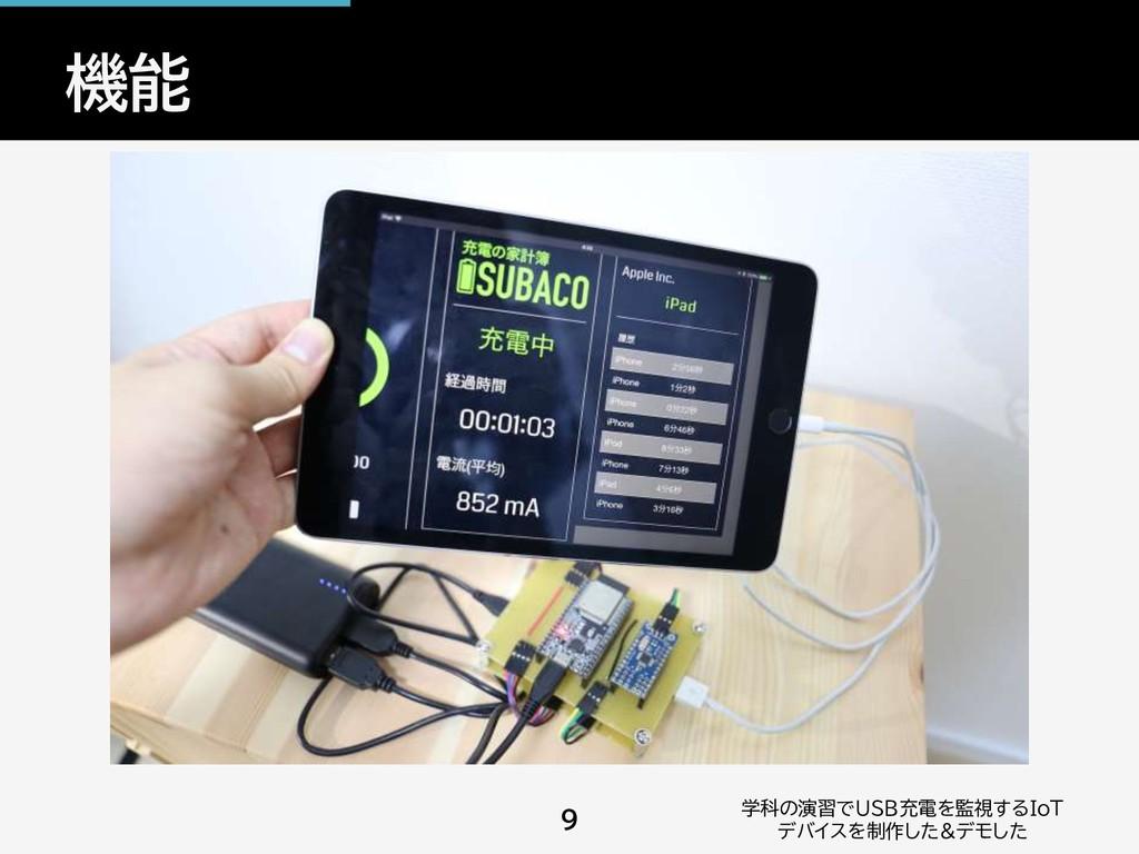 機能 学科の演習でUSB充電を監視するIoT デバイスを制作した&デモした 9