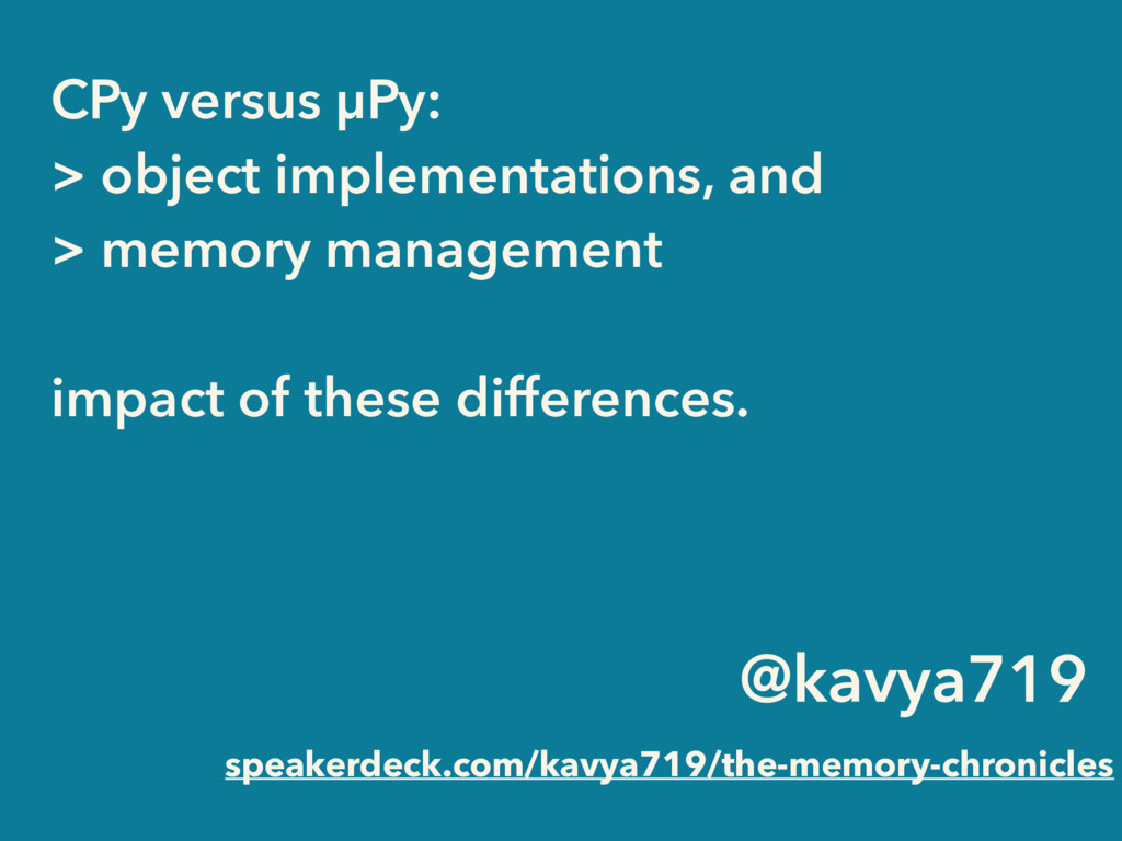 @kavya719 speakerdeck.com/kavya719/the-memory-c...