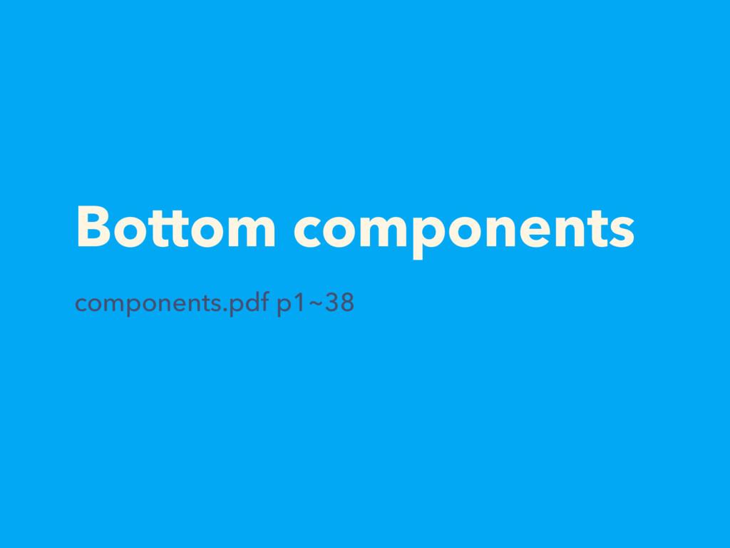 Bottom components components.pdf p1~38