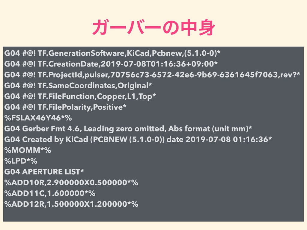 Ψʔόʔͷத਎ G04 #@! TF.GenerationSoftware,KiCad,Pcb...
