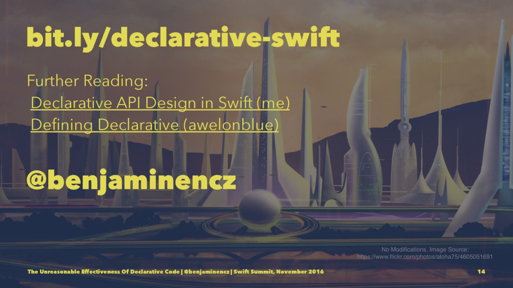 bit.ly/declarative-swift Further Reading: Decla...