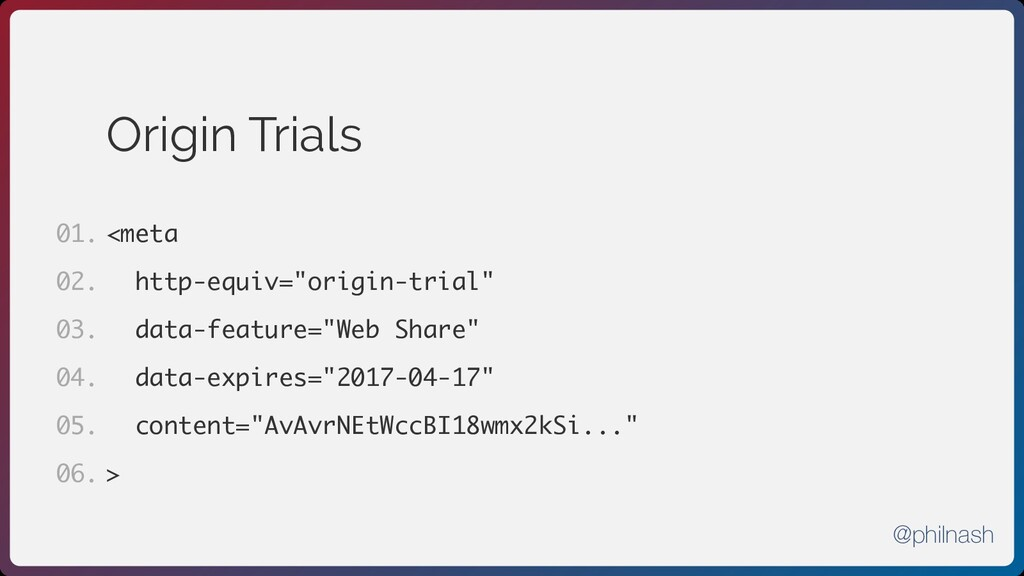 "Origin Trials <meta http-equiv=""origin-trial"" d..."