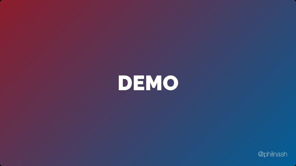 DEMO @philnash