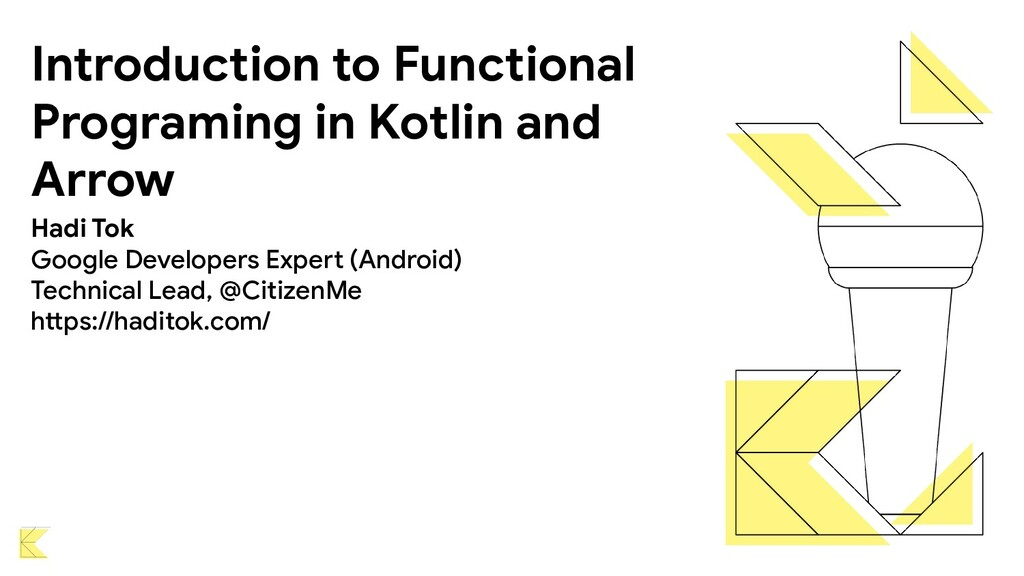 Introduction to Functional Programing in Kotlin...