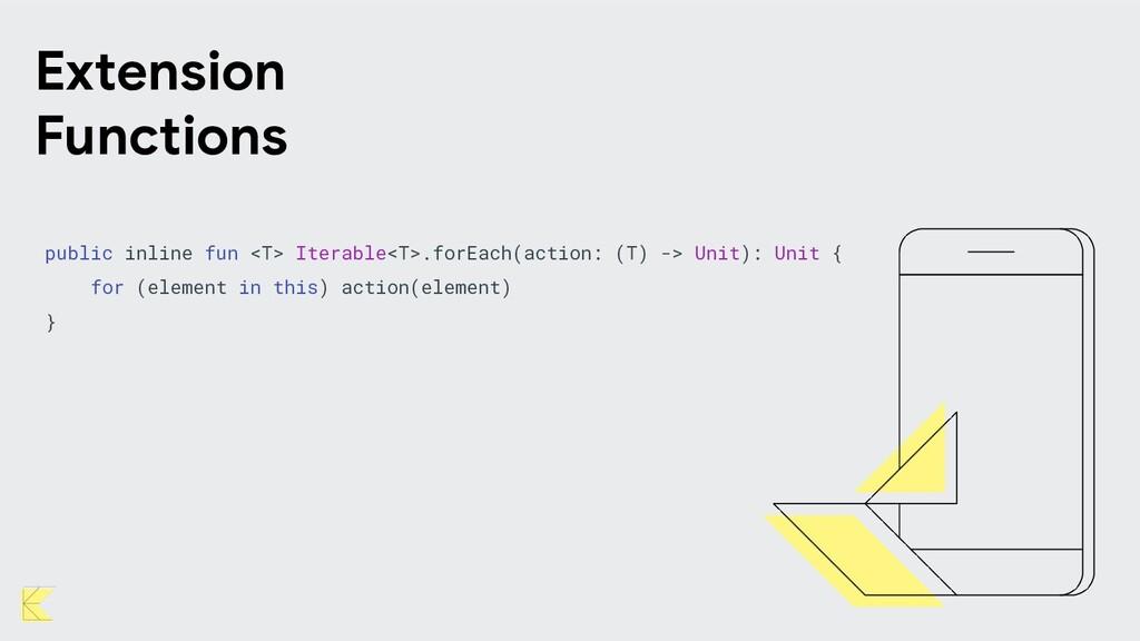 public inline fun <T> Iterable<T>.forEach(actio...