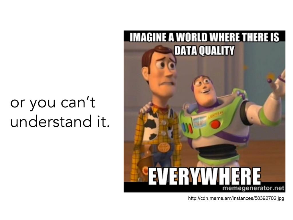 or you can't understand it. http://cdn.meme.am/...