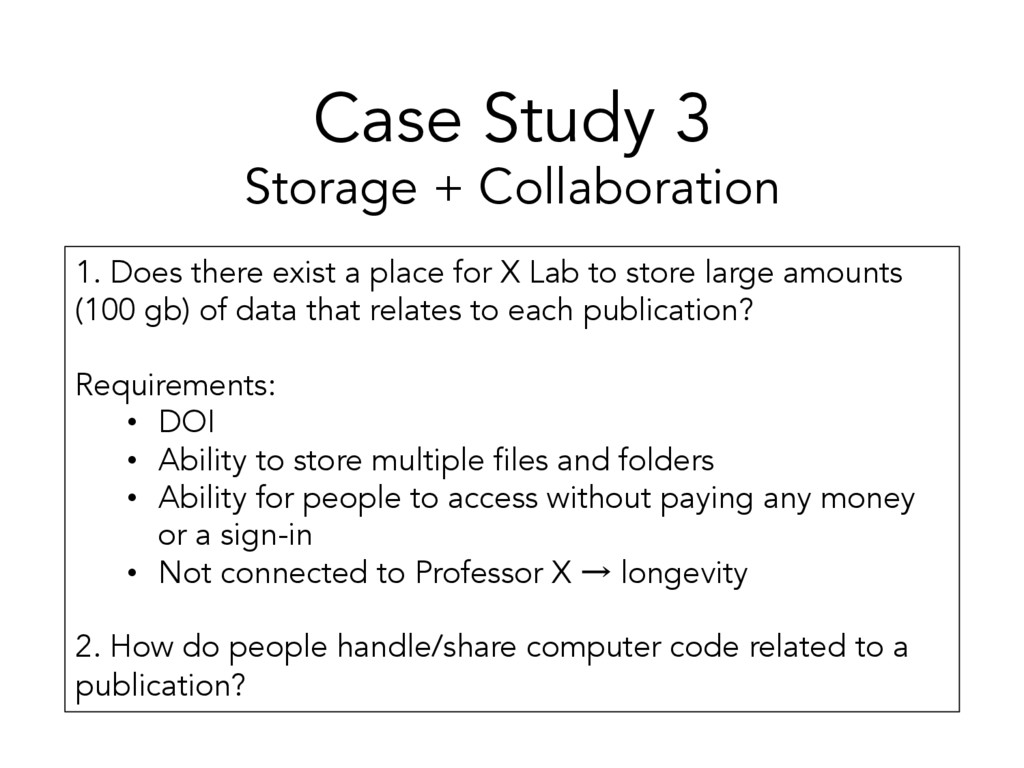 Case Study 3 Storage + Collaboration 1. Does th...