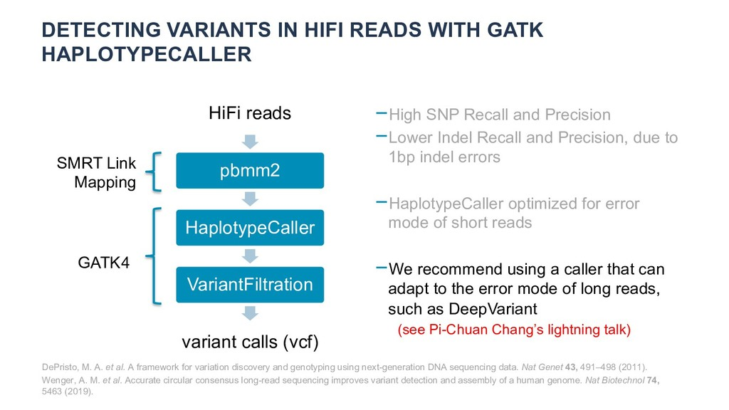 DETECTING VARIANTS IN HIFI READS WITH GATK HAPL...
