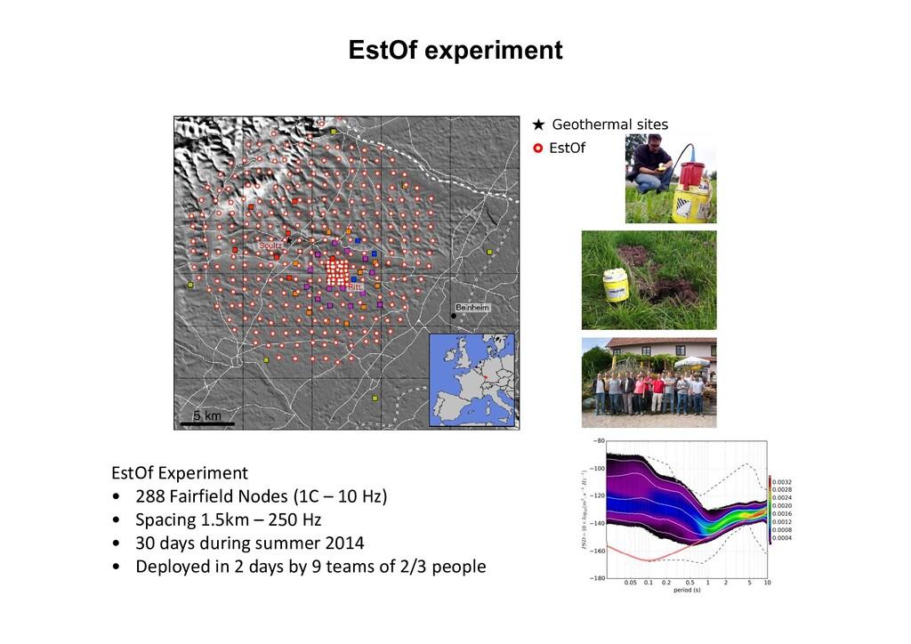 EstOf experiment EstOf Experiment • 288 Fairfie...