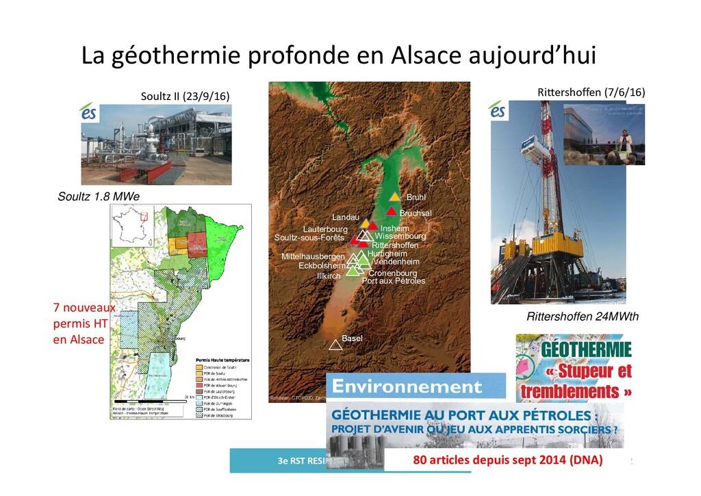 La géothermie profonde en Alsace aujourd'hui 3e...
