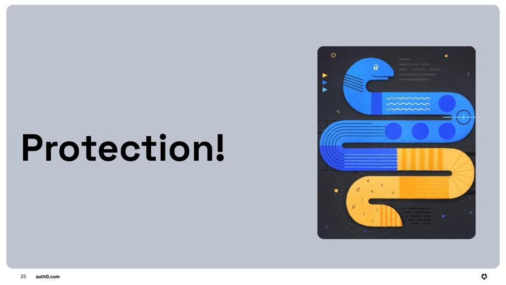 auth0.com 25 Protection!