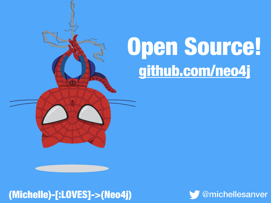 Open Source! github.com/neo4j @michellesanver (...