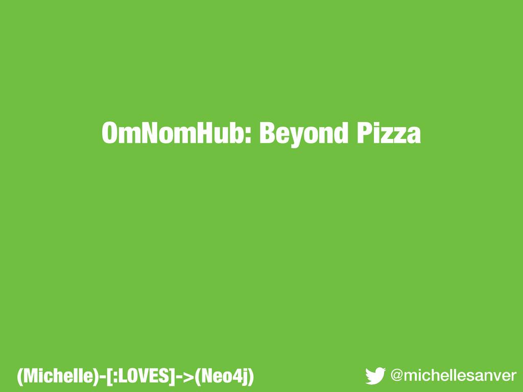 OmNomHub: Beyond Pizza @michellesanver (Michell...