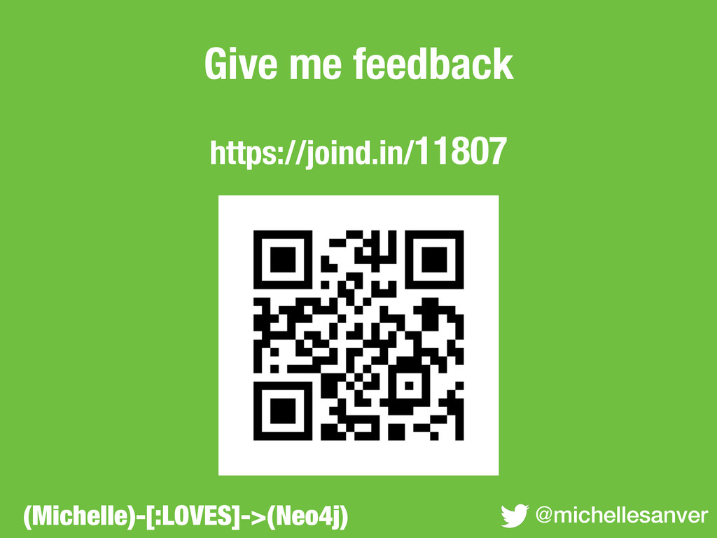 Give me feedback ! https://joind.in/11807 @mich...