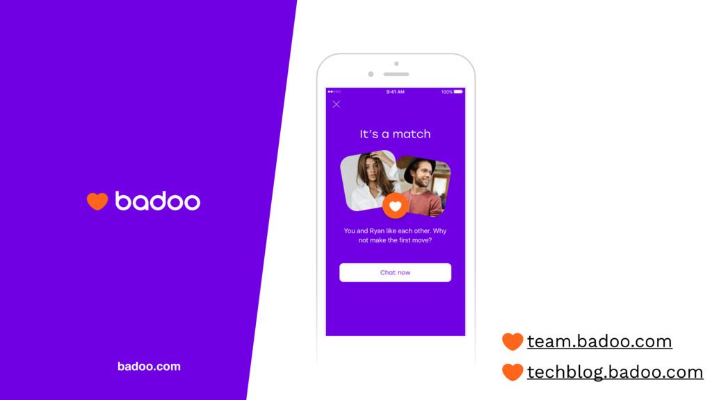 badoo.com team.badoo.com techblog.badoo.com