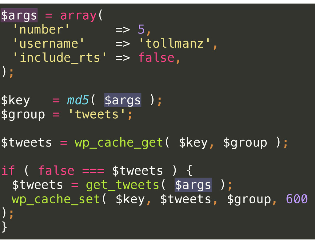 $args = array(