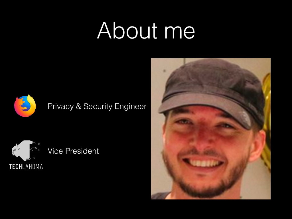 About me Privacy & Security Engineer Vice Presi...