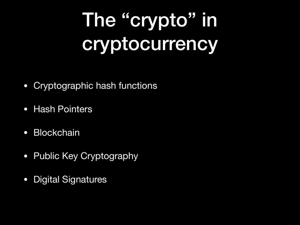 """The """"crypto"""" in cryptocurrency • Cryptographic ..."""