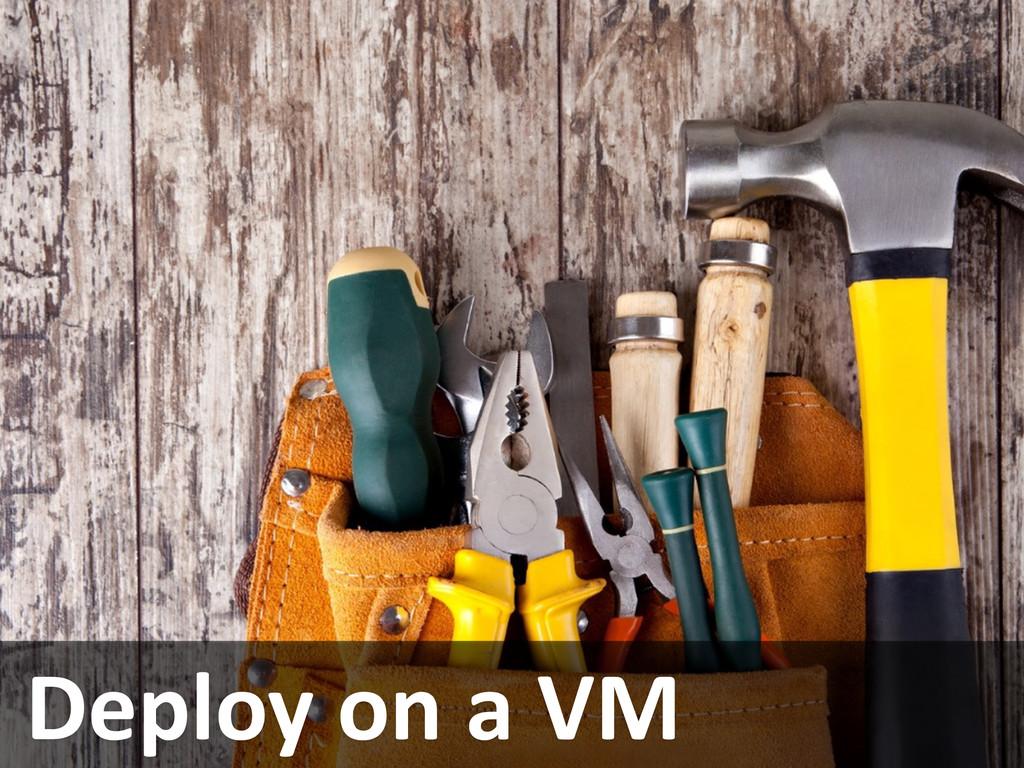 Deploy on a VM