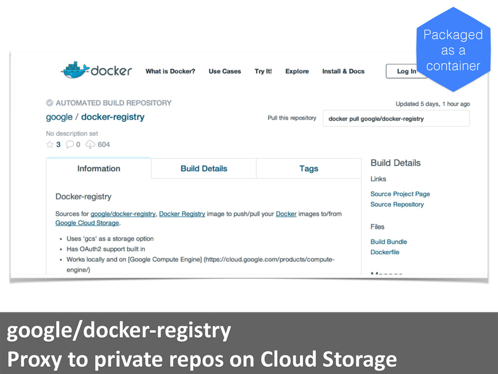 google/docker-­‐registry	