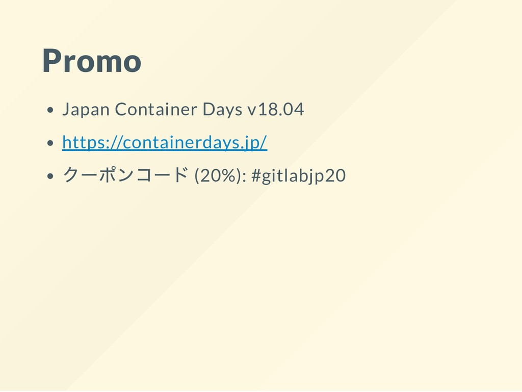 Promo Japan Container Days v18.04 https://conta...
