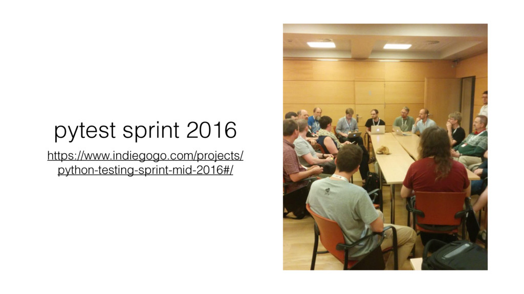 pytest sprint 2016 https://www.indiegogo.com/pr...