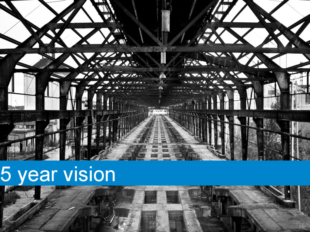 5 year vision