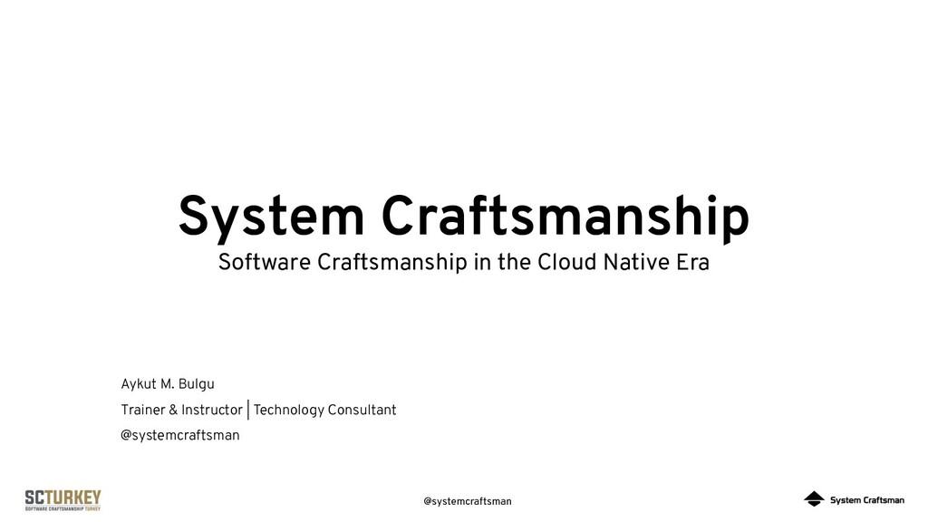 @systemcraftsman System Craftsmanship Software ...