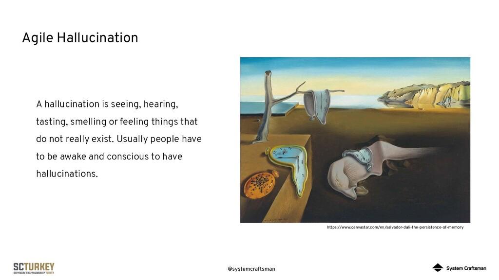 @systemcraftsman Agile Hallucination A hallucin...