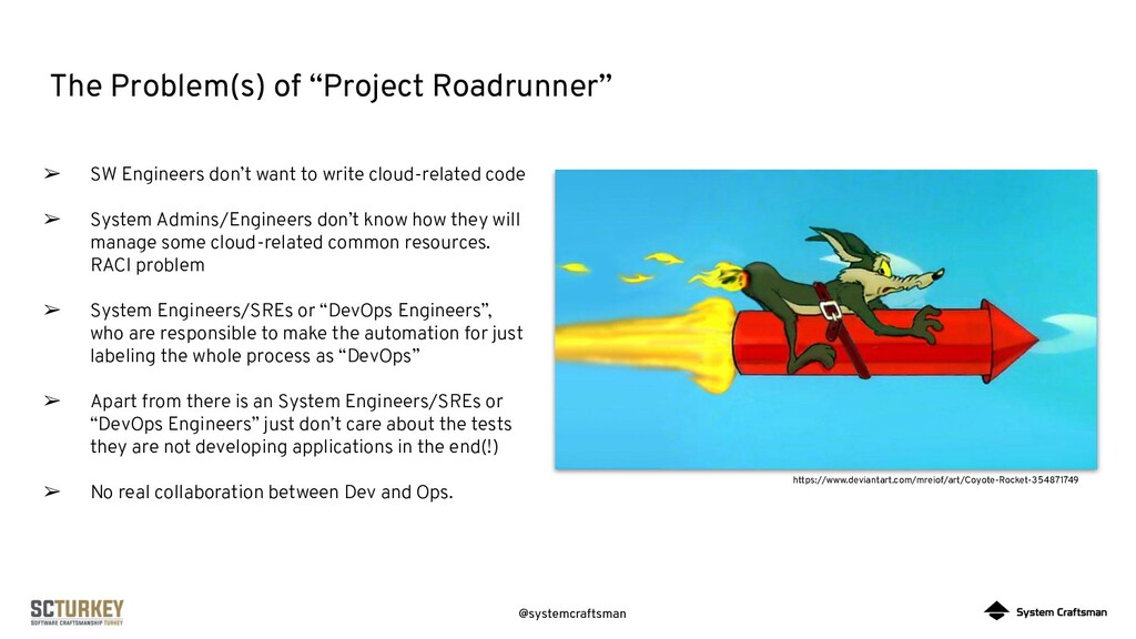 "@systemcraftsman The Problem(s) of ""Project Roa..."