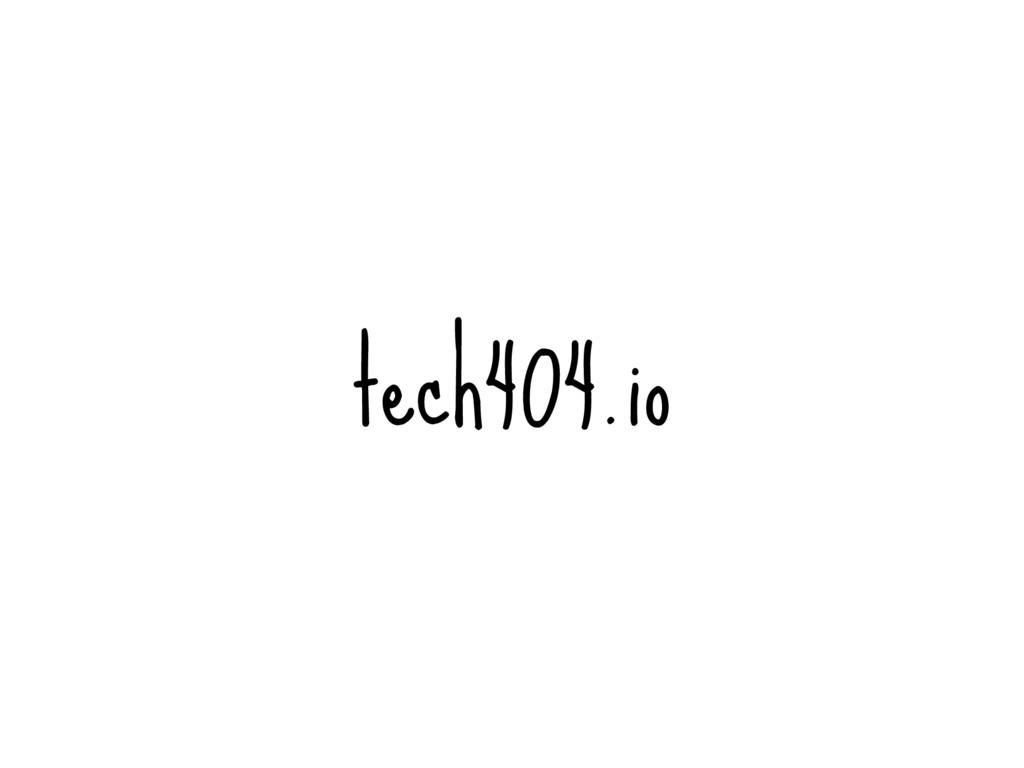 tech404.io