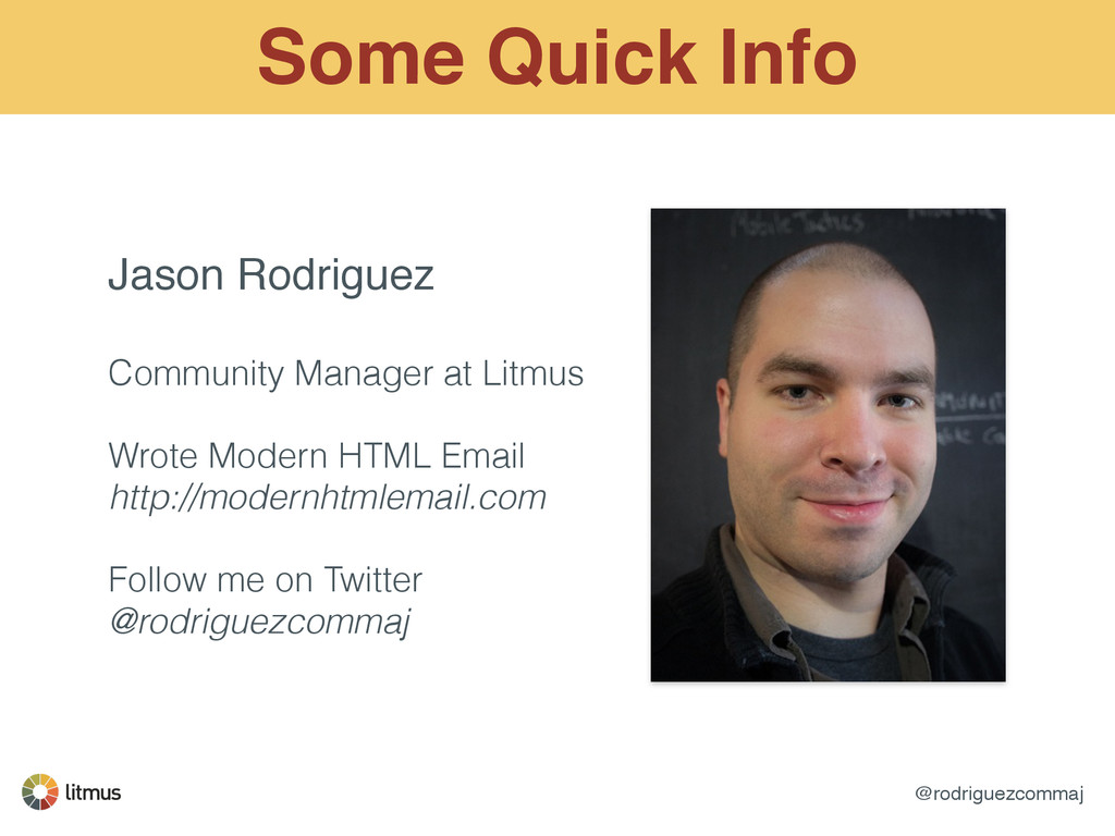 @rodriguezcommaj Some Quick Info Jason Rodrigue...