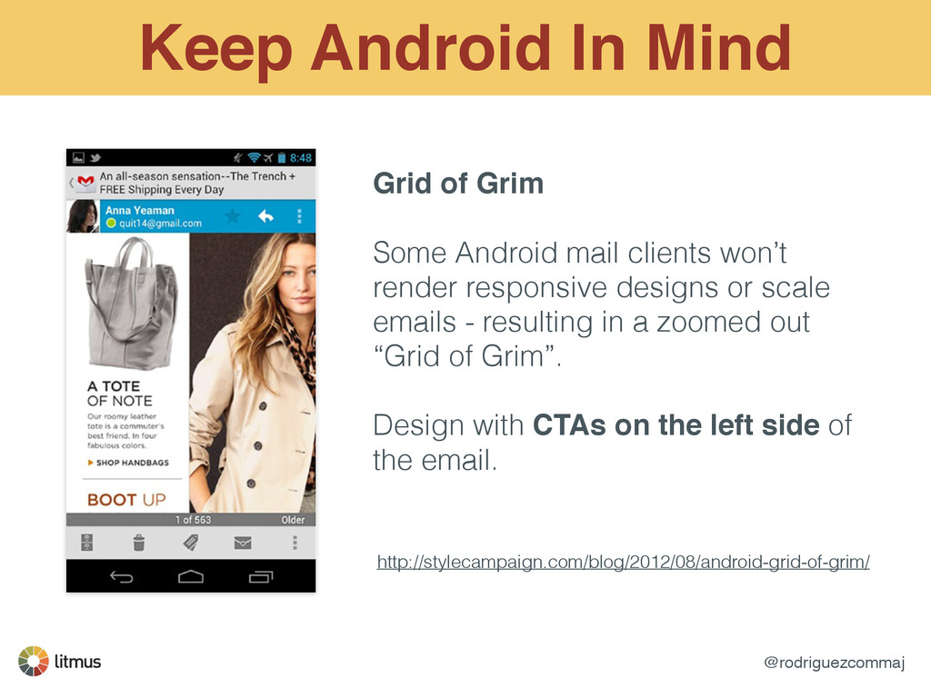 @rodriguezcommaj Keep Android In Mind Grid of G...